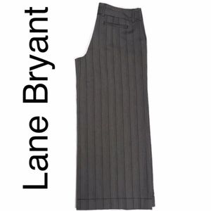 NEW Lane Bryant super wide leg trouser in brown